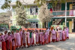 Aung Myae Oo, Monastic Education School