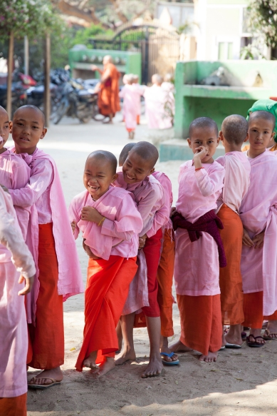 Aung Myae Oo, Monastic Education School